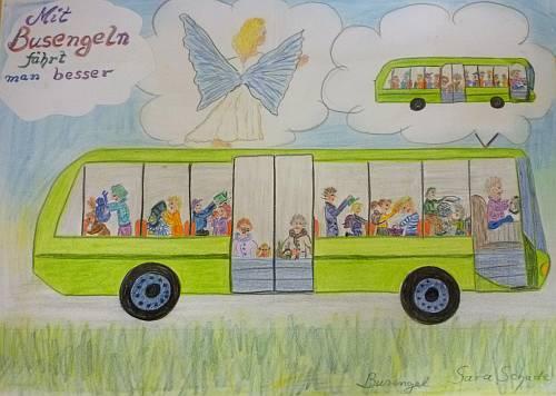 gemalt von Schülern der Bruno-Lorenzen-Schule Schleswig